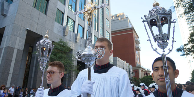 Sights of the Eucharistic Congress