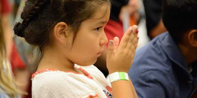 Youth at the Eucharistic Congress