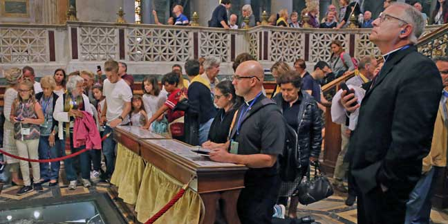 Diocesan pilgrims travel to Rome for Jubilee Year of Mercy