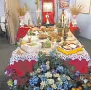 Marion church hosts 'St. Joseph Table' to benefit the needy