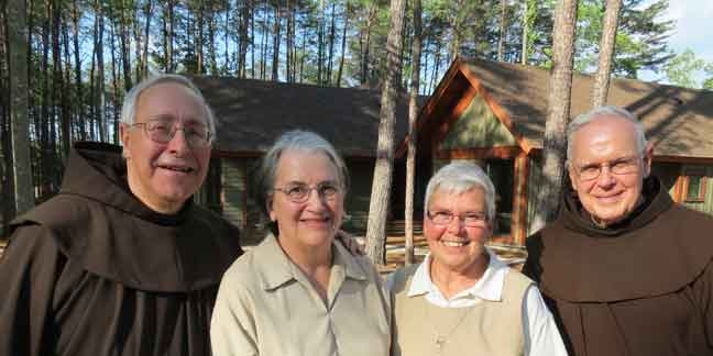 St. Francis Springs Prayer Center dedicates 2 new cottages