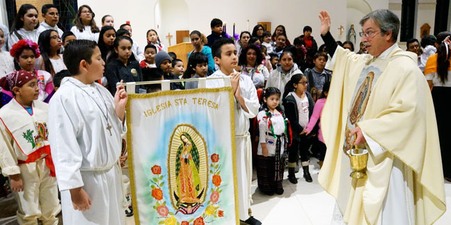 Honoring Our Lady of Guadalupe