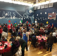 Community Christmas Dinner by Bounty of Bethlehem serves 2,400-plus people
