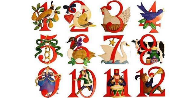 The '12 Days of Christmas': An