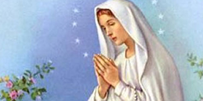 Feast of Our Lady of Lourdes commemorated on Feb. 11