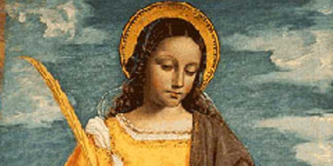 St. Agatha Feast day: Feb. 5
