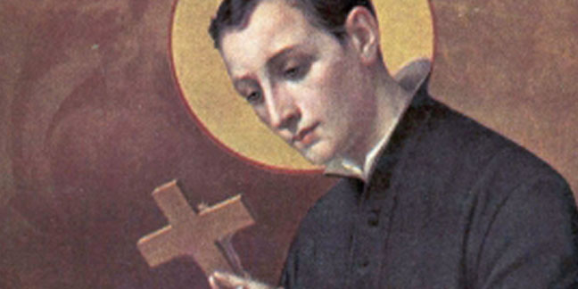 St. Aloysius Gonzaga, patron of AIDS patients, remembered June 21