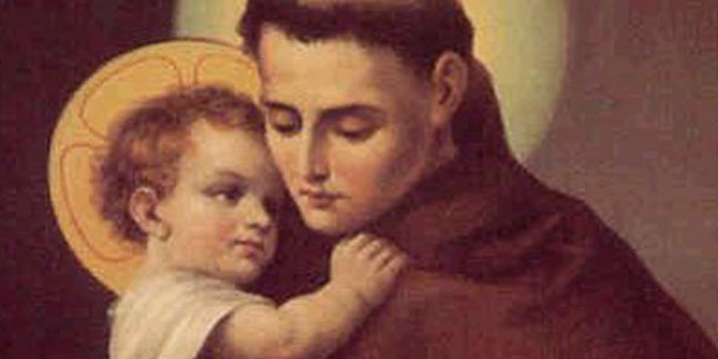 St. Anthony of Padua, 'Hammer of Heretics,' honored June 13