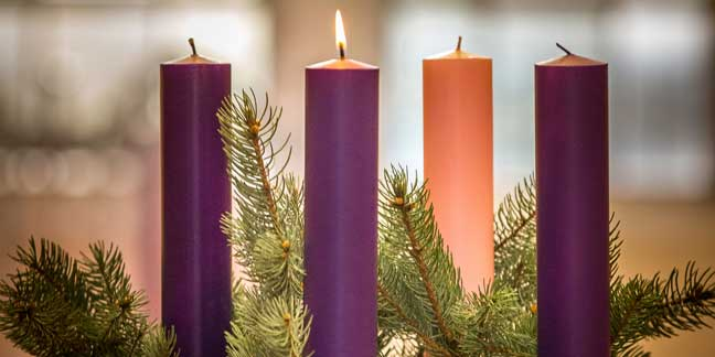 Image result for advent wreath week 1