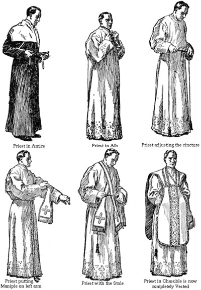 What Are The Traditional Latin Mass Vestments